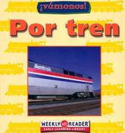 Cover of: Por Tren/Going by Train (Vamanos!/Going Places)