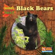 Cover of: Black Bears (Animals That Live in the Forest) |