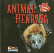 Cover of: Animal Hearing (Animals and Their Senses) | Kirsten Hall
