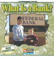 Cover of: What Is a Bank? (Money and Banks)