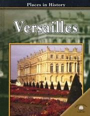 Cover of: Versailles (Places in History)