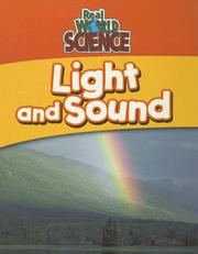 Cover of: Light and sound