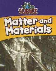 Cover of: Matter and materials