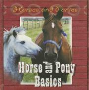 Horse and pony basics