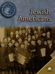 Cover of: Jewish Americans (World Almanac Library of American Immigration)