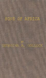 Cover of: Sons of Africa