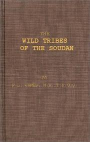 Cover of: The wild tribes of the Soudan