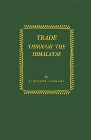 Cover of: Trade through the Himalayas