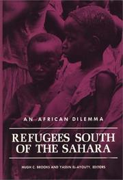 Cover of: Refugees south of the Sahara
