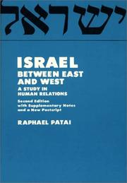 Cover of: Israel between East and West