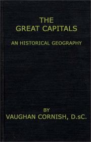 Cover of: The great capitals
