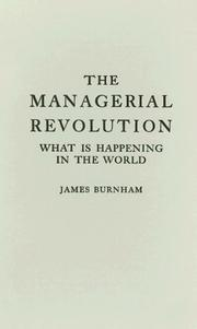 Cover of: The managerial revolution