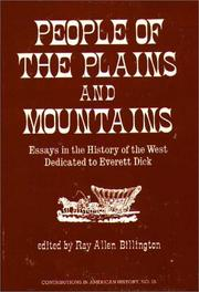Cover of: People of the Plains and Mountains