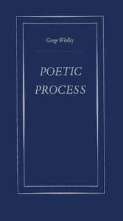 Cover of: Poetic process