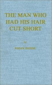 Cover of: The man who had his hair cut short