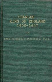 Cover of: Charles, King of England, 1600-1637