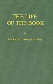 Cover of: The life of the book
