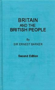 Cover of: Britain and the British people
