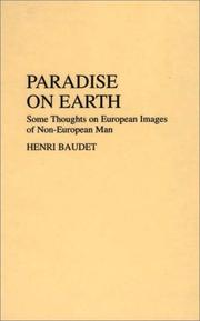 Cover of: Paradise on earth | E. H. P. Baudet