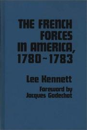 Cover of: The French forces in America, 1780-1783