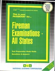 Cover of: Fireman Examinations - All States (Career Examinaion Series) |