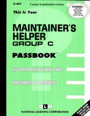 Cover of: Maintainer