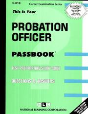 Cover of: Probation Officer |
