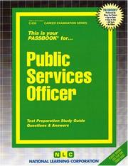 Cover of: Public Services Officer | National Learning Corporation