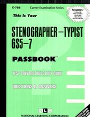 Cover of: Stenographer Typist | Jack Rudman
