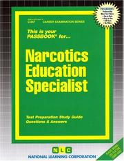 Cover of: Narcotics Education Specialist | National Learning Corporation