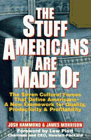 Cover of: The stuff Americans are made of