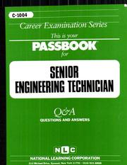 Cover of: Senior Engineering Technician |