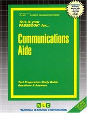 Cover of: Communications Aide |