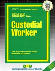 Cover of: Custodial Worker |