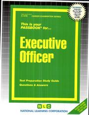 Cover of: Executive Officer (C-1278) | Jack Rudman