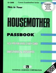 Cover of: Housemother |