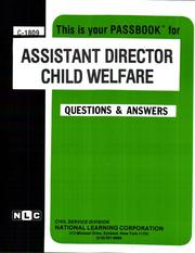 Cover of: Assistant Director (C 1809) |