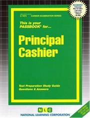 Cover of: Principal Cashier | National Learning Corporation