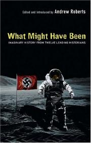 Cover of: What Might Have Been