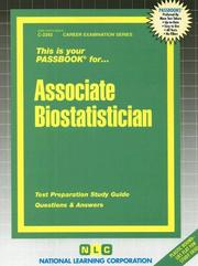 Cover of: Associate Biostatistician |
