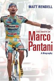 Cover of: The Death of Marco Pantani | Matt Rendell