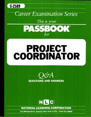 Cover of: Project Coordinator |