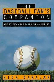 Cover of: The baseball fan