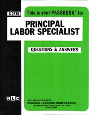 Cover of: Principal Labor Specialist | National Learning Corporation