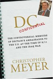 Cover of: DC Confidential | Christopher Meyer