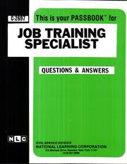 Job Training Specialist (Career Examination ; C-2697)