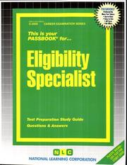 Cover of: Eligibility Specialist |