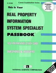 Cover of: Real Property Information System Specialist | National Learning Corporation