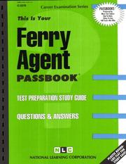 Cover of: Ferry Agent | National Learning Corporation