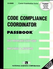 Cover of: Code Compliance Coordinator | National Learning Corporation